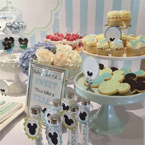 Sweet Baby Shower by Baby Mickey Baby Shower Ideas Photo 1 Of 9 Catch