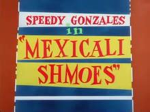 looney tunes title card template mexicali shmoes