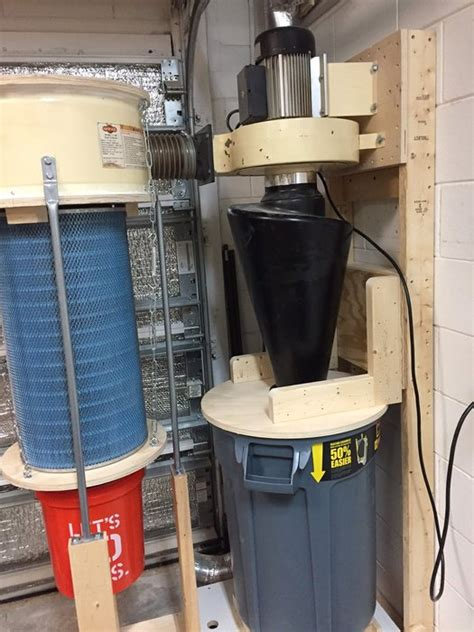 squirrel cage fan harbor freight dust collector modification part deux by