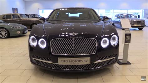 bentley flying spur black interior bentley flying spur 2016 in depth review interior exterior