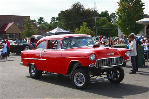1955 Chevrolet Gasser On The Road To The 2013 Simsbury Flyin The Connecticut