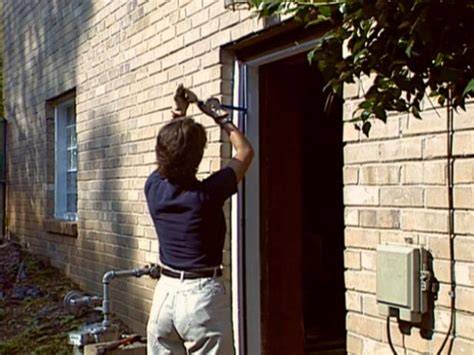 Removing Exterior Door How To Install A Pre Hung Exterior Door How Tos Diy