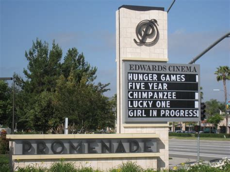 roadside marquee sign roadside marquee for the edwards cinema theater cinema