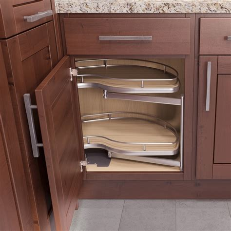 corner kitchen cabinet organizer vauth sagel corner 1 blind corner pull out 39 quot w left 9000 2409 order today shop