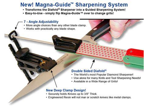 dmt knife sharpening guide dmt dmgef diafold magna guide sharpening system