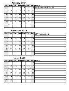 2014 calendar templates download 2014 monthly amp yearly