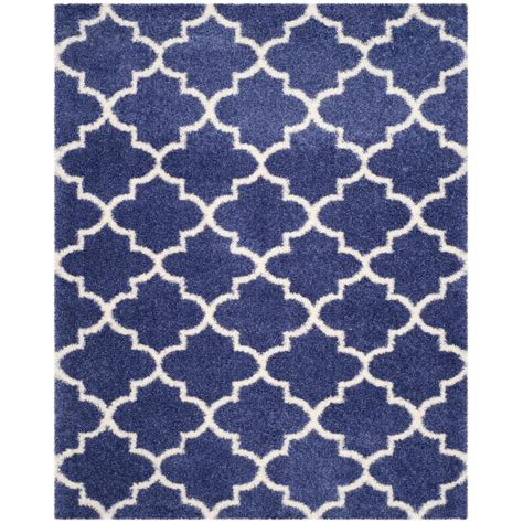 periwinkle rug safavieh montreal shag periwinkle ivory 8 ft x 10 ft area rug sgm832p 8 the home depot