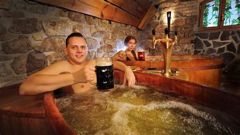 beer bathtub czech beer spas the spa man