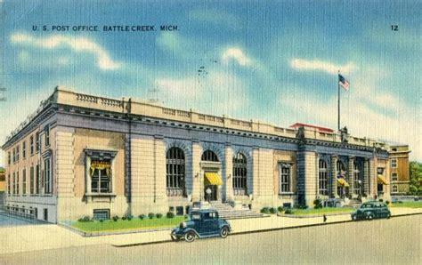 Battle Creek Post Office by Post Office 49016 Battle Creek 28 Images Postcards