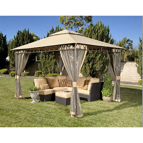pacific casual gazebo pacific casual 12 x 10 gazebo replacement canopy garden winds