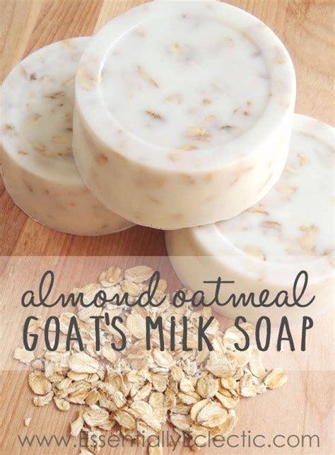 Handmade Goat Milk Soap Recipe - sweet almond honey oatmeal goat s milk soap milk soap
