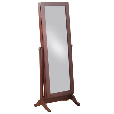 powell jewelry armoire mirror powell jewelry armoire 14j2001ch sliding mirror jewelry armoire furniture superstore
