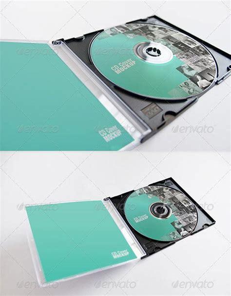 20 psd cd dvd cover mockup templates