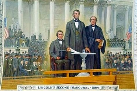 lincoln inaugural address 1865 this is concern of past u s presidents