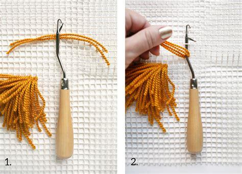 how to hang a latch hook rug latch hook wall hanging diy a beautiful mess