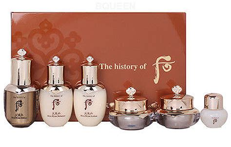 The History Of Whoo Hwa Hyun Special Gift Set Sle Kit 3 Items korean cosmetics the history of whoo hwa hyun special giftset 6 items chungidan