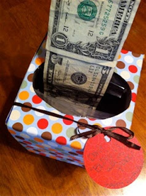 Ideas 18 Year Boy - gift idea money tissue box gift ideas