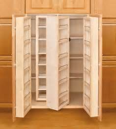 revashelf 57 quot high swing out wood kitchen pantry cabinet