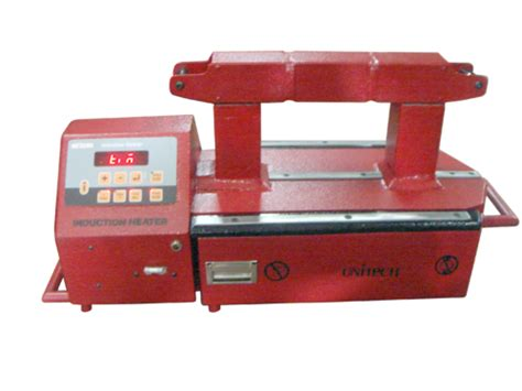 induction heating load model unitech instruments thane manufacturer of induction heater and bearing induction heater