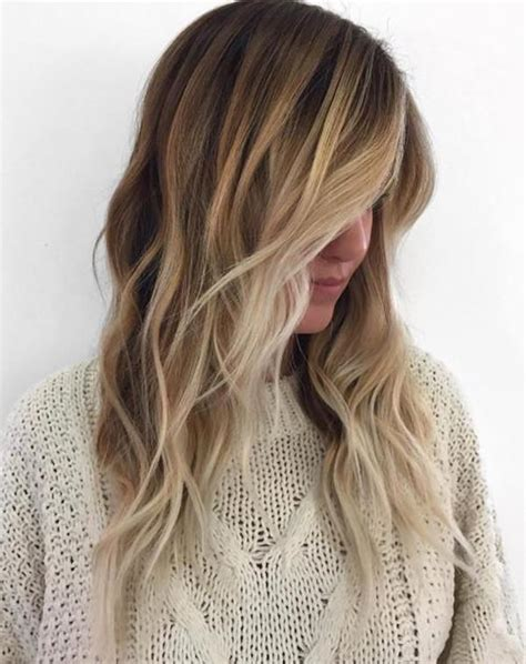 hairstyle that is light on top and dark on bottom 69 gorgeous blonde balayage hairstyles you will love