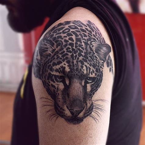tattoo black and grey animal black and grey style leopard tattoo alf pinterest