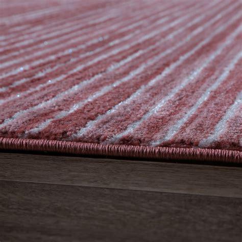 tappeti a righe tappeto soggiorno a righe rosa tapetto24