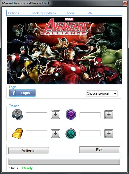 new games extensions marvel avengers alliance hack facebook