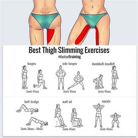 26 best images about workout routines on pinterest to best thigh slimming exercises follow fitutorial for more