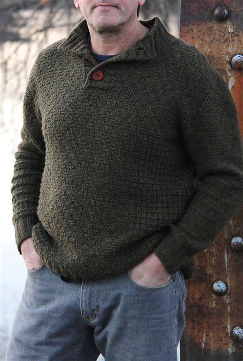 knitting pattern henley sweater men s sweater knitting patterns in the loop knitting