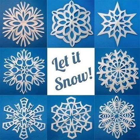 Best Way To Make Paper Snowflakes - 25 best ideas about snowflake template on