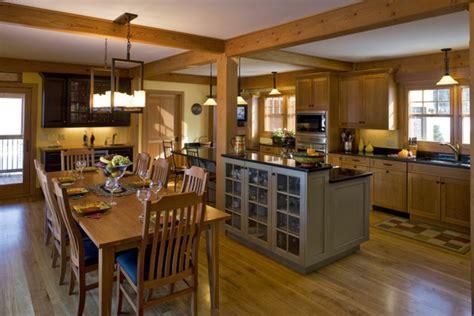 Impressionnant Table Cuisine Petit Espace #5: cuisine-ouverte-sur-la-salle-%C3%A0-manger-une-belle-cuisine-%C3%A0-plan-ouvert.jpg