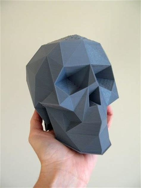 Poly Barbara Lowback Low Back Top cults releases top ten list of 3d printable skull designs 3dprint the voice of 3d
