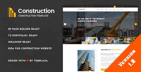 joomla theme detector online construction building architect joomla template