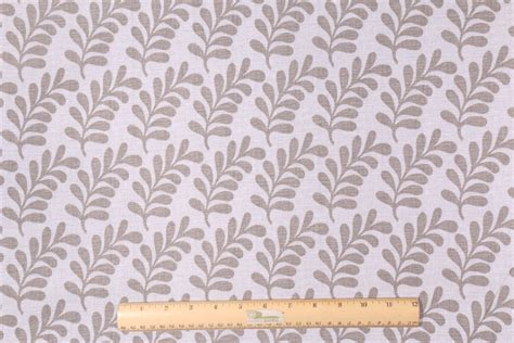 grey drapery fabric waverly palm coor printed cotton drapery fabric in grey