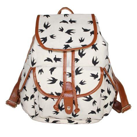 Inini Motif Vintage Lunch Bag Pink vintage backpacks for backpakc fam