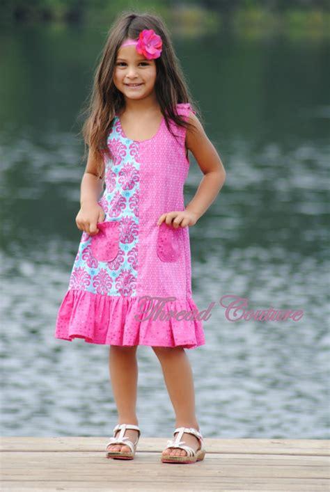 etsy dress pattern girl kids dress pattern girls dress sewing pattern by threadcouture