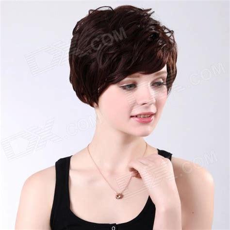 lyhyet hiukset muoti sc018 m433 muoti p 246 rr 246 inen naisten lyhyet hiukset peruukki