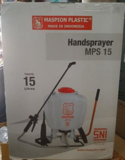Sprayer Maspion sprayer maspion mps 15 kapasitas 15 liter jual