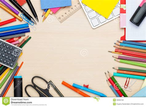 Best Office Supplies by School And Office Supplies Stock Photo Image Of Keyboard