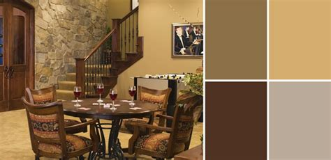 rustic color scheme a palette guide to basement paint colors home tree atlas