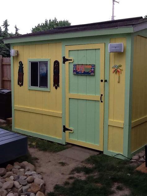 our tiki shed backyard tiki bar