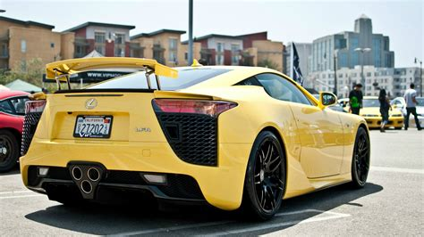lexus lfa wallpaper yellow yellow car lexus lfa wallpapers and images wallpapers