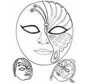 Mascaras De Carnaval Para Imprimir Fotodivulga&231&227o