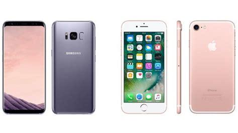 el nuevo samsung galaxy s8 frente al iphone 7 191 cu 225 l es mejor