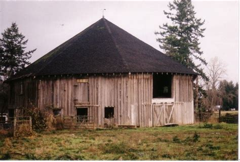 octagonal barn washington state barns farms