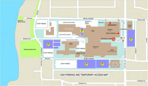 Library Floor Plan by Temporary Entrance To Kgh Kelowna News Castanet Net