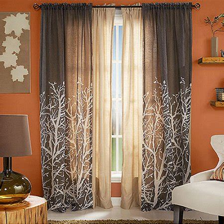 sheer curtain panels walmart better homes and gardens arbor springs semi sheer window