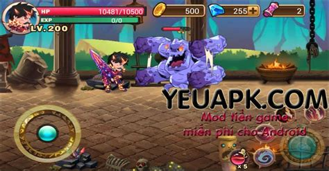 download game android brave fighter mod brave fighter hd mod kim cương cho android