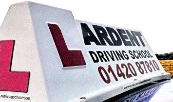 driving school headboards ardent driving school alton 01420 87810 learner discounts
