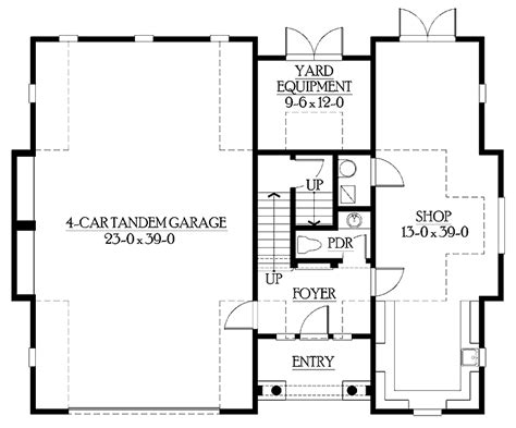 Garage Living Space Floor Plans | 17 best garage with living space floor plans home building plans 30982